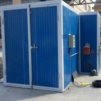High Temperature Baking Lacquer Room Furniture Baking Lacquer Room Equipment Metal Baking Lacquer Room Electrical Heating фото