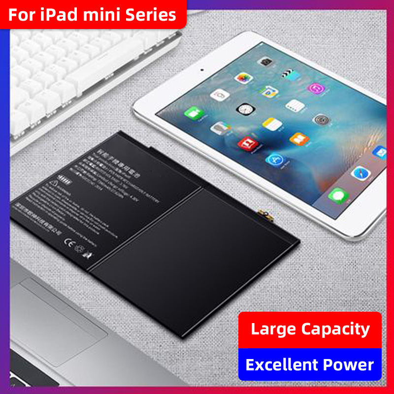 New Battery for Apple iPad Mini 2 Mini 3 A1512 A1489 A1490 A1491 A1599 6471mAh
