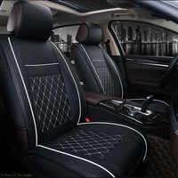 Pu Leder Auto Sitz Covers Universal Vier Jahreszeiten Auto Kissen Passt alle Standard Auto Sitze