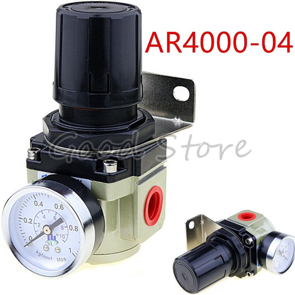 AR4000-04 SMC Type 1/2 Port Size Air Treatment Units Pneumatic Mini Air Pressure Regulator 1/2 Inch BSPAR4000-04 SMC Type 1/2 Port Size Air Treatment Units Pneumatic Mini Air Pressure Regulator 1/2 Inch BSP