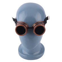 Men's Steampunk Style Sunglasses with Black Lenses
