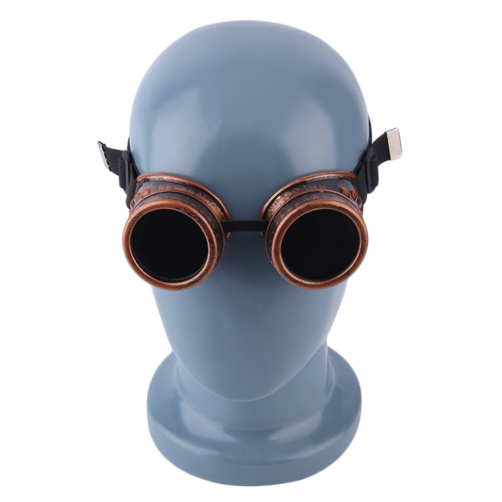 32b7be62a70fc Cyber Goggles Steampunk Glasses Vintage Retro Welding Punk Gothic  Sunglasses 2018 Fashion Retro Steampunk Cyber Goggles Glasses -in  Sunglasses from Apparel ...