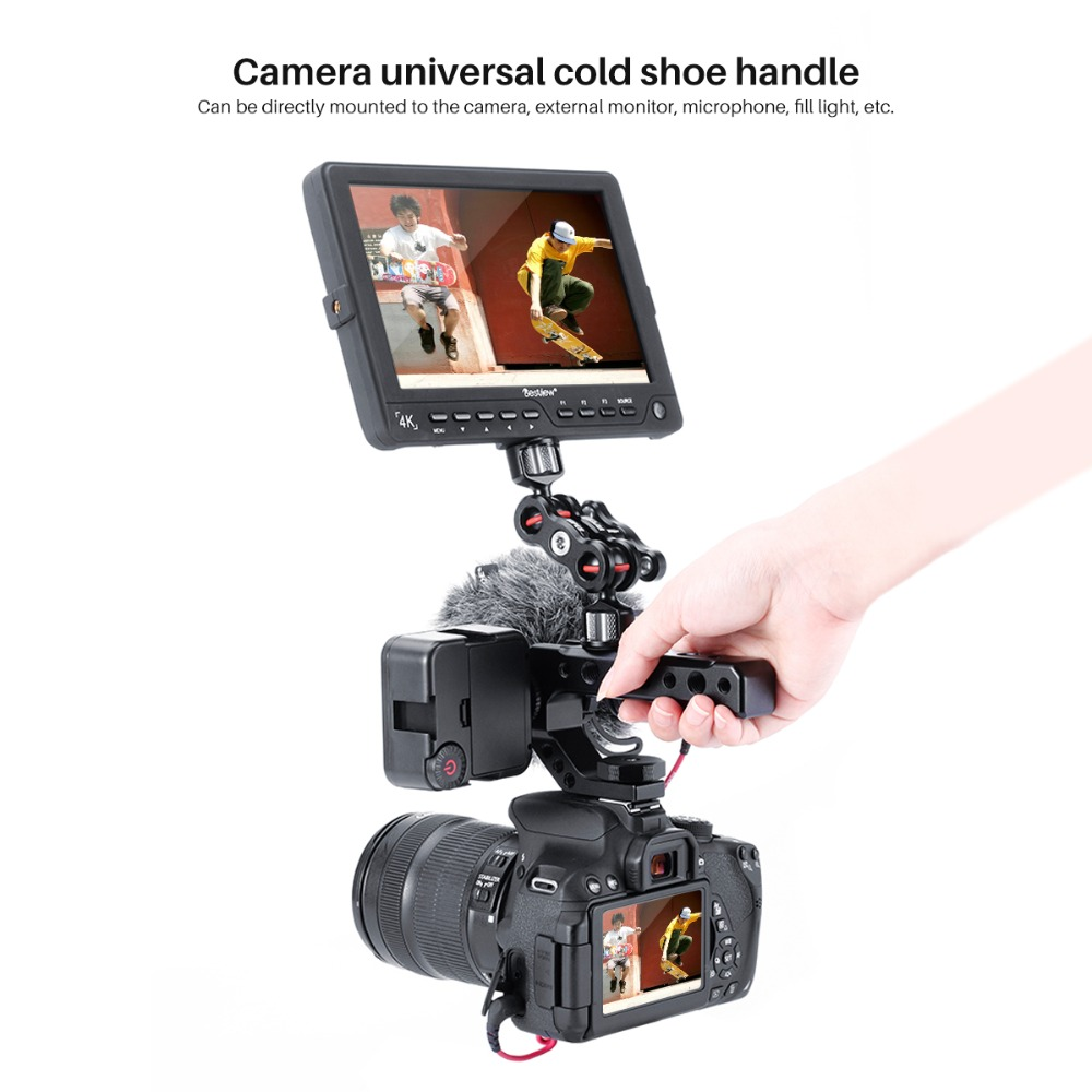 cheapest Yelangu DSLR Rig Camera Cage Kit Shoulder Stabilizer System Video Rig For Canon 5D Mark III IV 6D 7D Nikon D7200 Sony A7 GH5 GH4