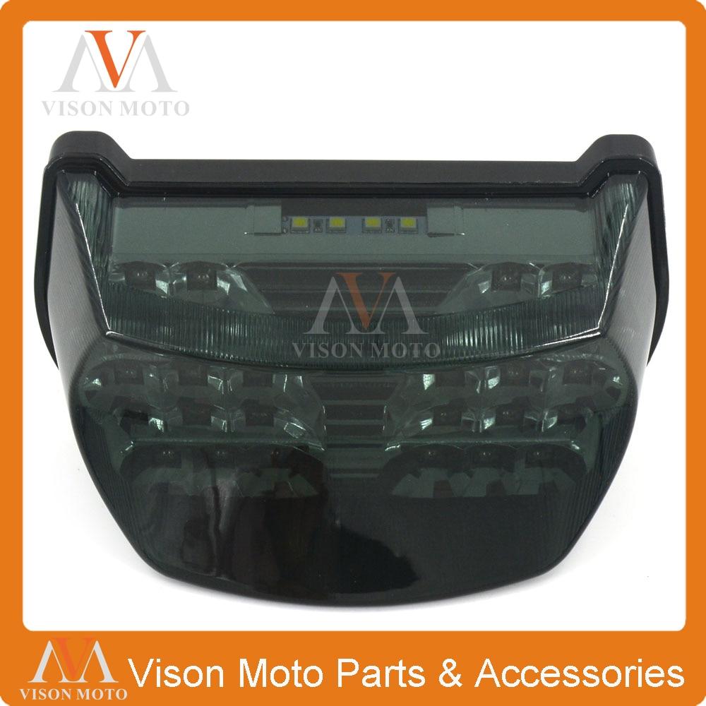 Мотоцикл задний свет, стоп-сигналы, Светодиодные лампы свет дым для Kawasaki ZX7R ZX750 ZX7RR 96-03 GPZ1100 ZX1100