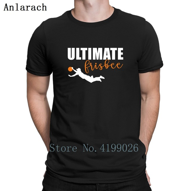 8a0190d16 Ultimate Frisbee T-Shirt High Quality Custom Summer Top Cool T Shirt For Men  Round Collar Homme Sunlight Great