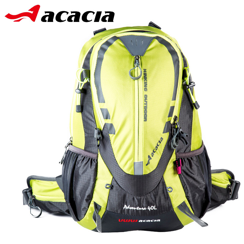 Acacia 40L Multifunction Waterproof Bicycle Backpack with Rain Cover Bicicleta Accessories For Mountain Bike Cycling Bags 04415 aosrrun cover the black rain rain shield rain or shine ordinary rain eyebrow for ssangyong korando kyron actyon car accessories