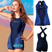 2015 Hot selling Fabulous Womens One Piece Shorts Swimsuit Sports Swimming Bathing Suit Plus