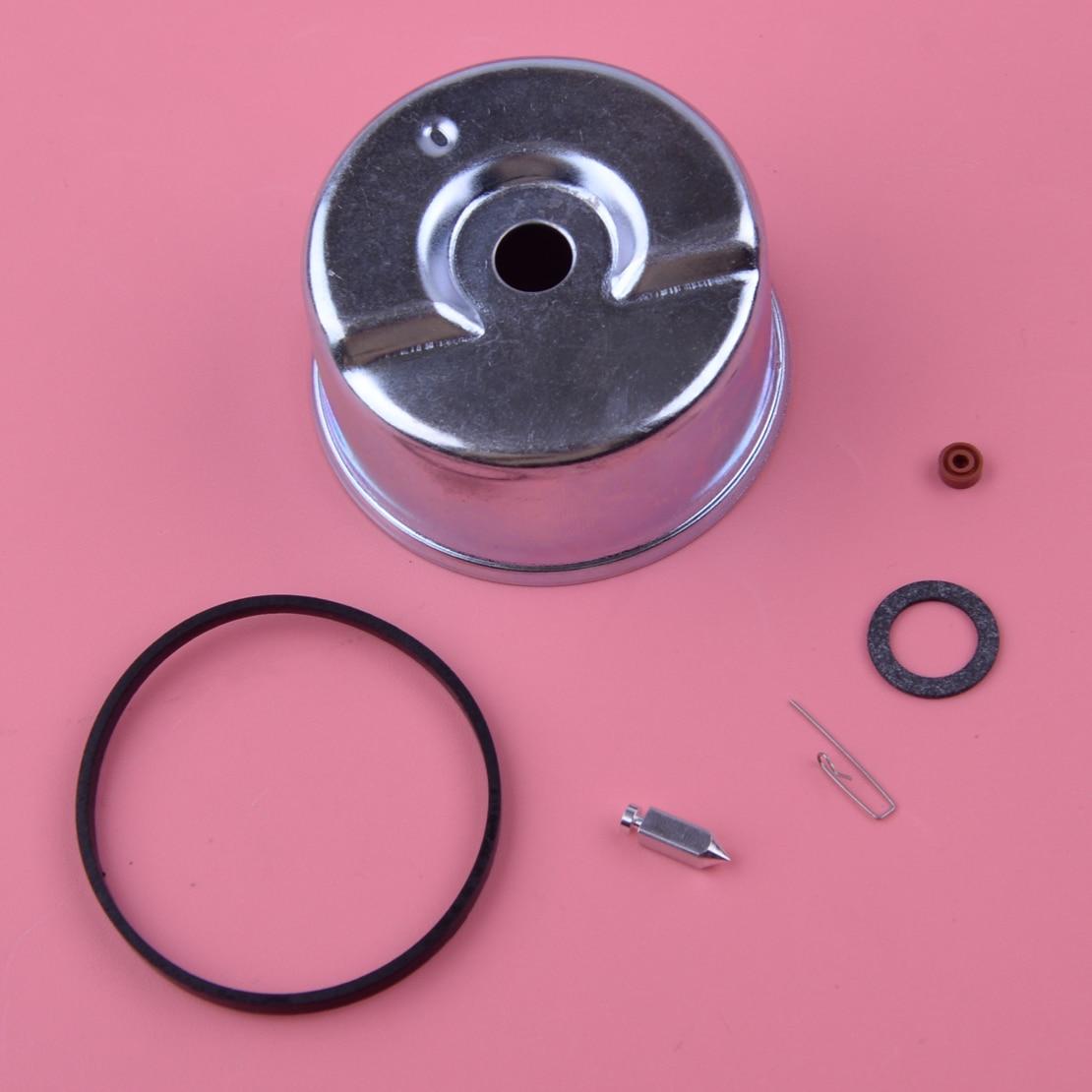 LETAOSK 6pcs /set Carburetor Float Bowl Needle Seat O-ring Repair Kit Engine Fit For Tecumseh 631867 631021B