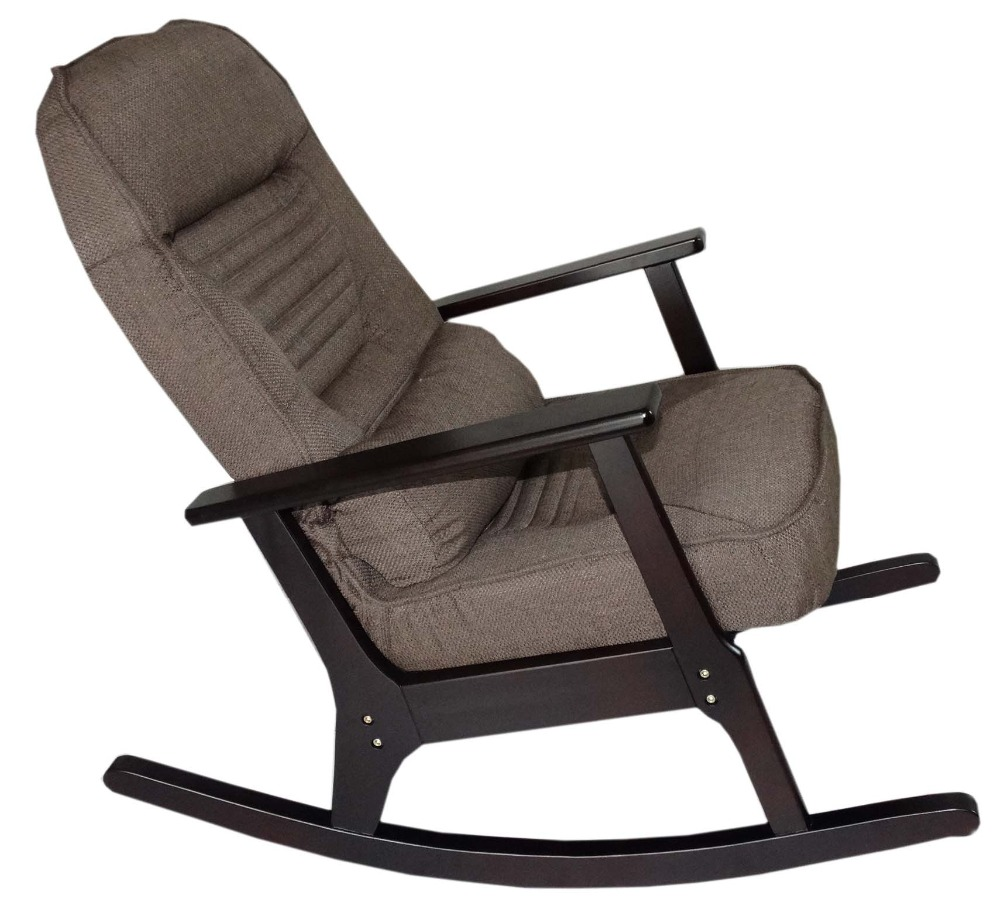 Rocking chair recliner for elderly people japanese style recliner chair armrest modern recliner lounge folding rocking