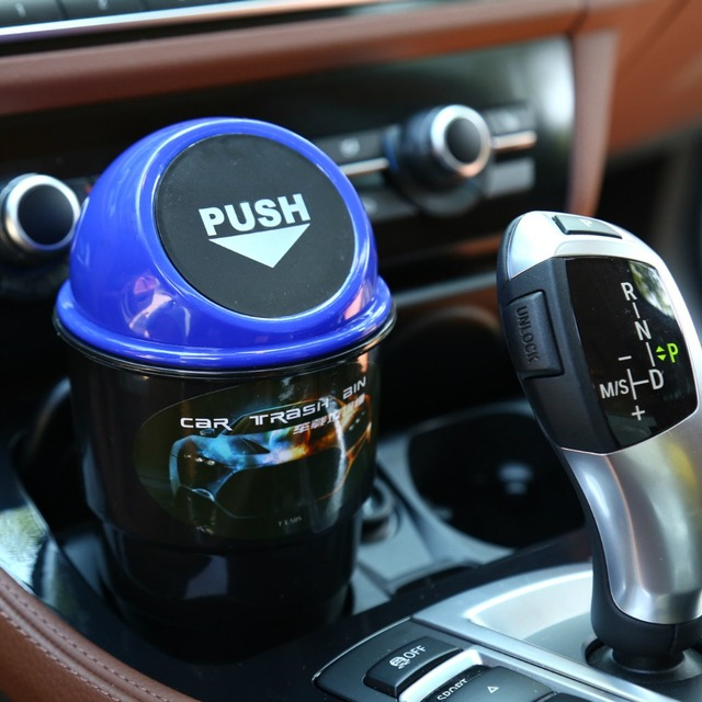 Car Garbage Can Car Ashtray Car Trash Can Garbage Dust Case Holder Interior Accessories auto accessories