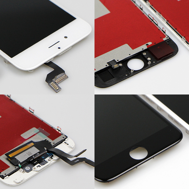 Premium Tianma ESR LCD For iPhone 6 6S LCD Display and Digitizer Assembly Screen Replacement with Cold press Frame