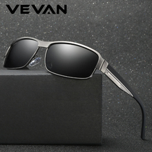 VEVAN Classic Rectangular Polarized Sunglasses Men UV400 Vintage Sun Glasses Male Driving 2019 Retro Brand lentes de sol hombre