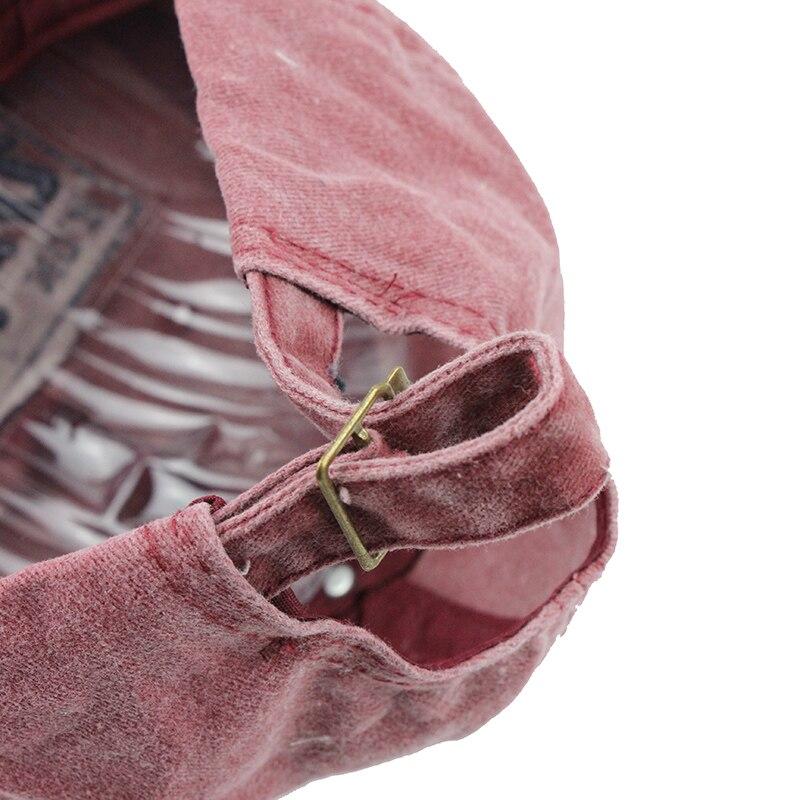 Topdudes.com - Casual Fashion Cotton Mesh Embroidery Snapback Baseball Cap For Men