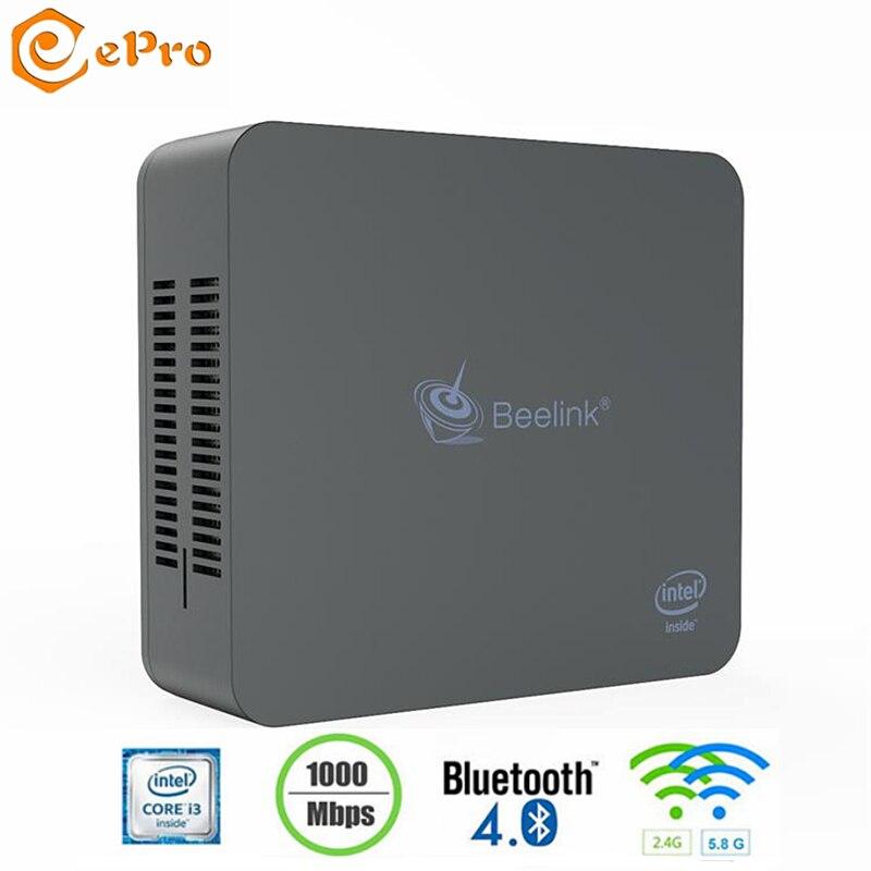 Beelink 256GB 8GB 512GB In I3-500U Dual Core HD Graphics 5500Beelink BT4.0 Win10 2.4G