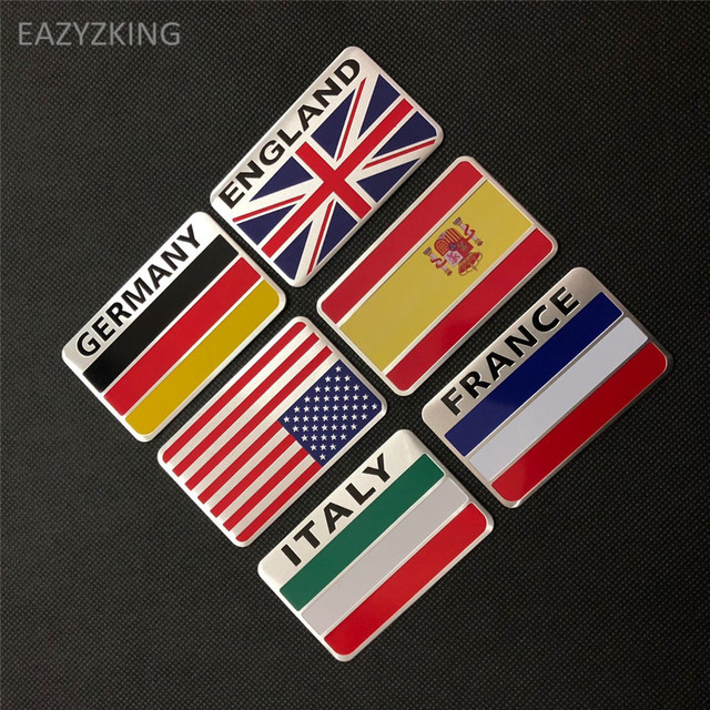 Eazyzking car styling national flag stickers for haval all model h3 h5 h6 h7 h8