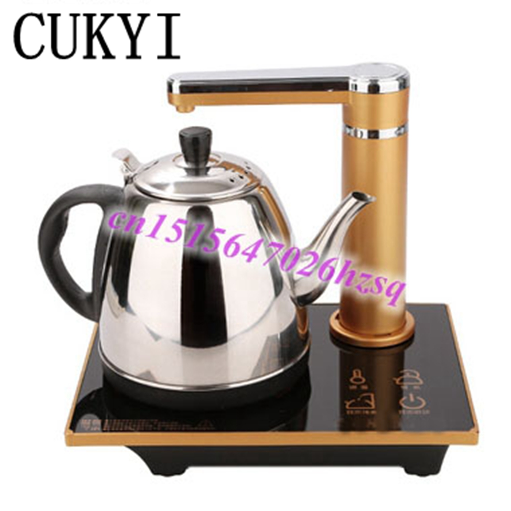 CUKYI water supplying electric kettle Automatic pumping Temperature adjustment Show the temperature of  water 3mins heating