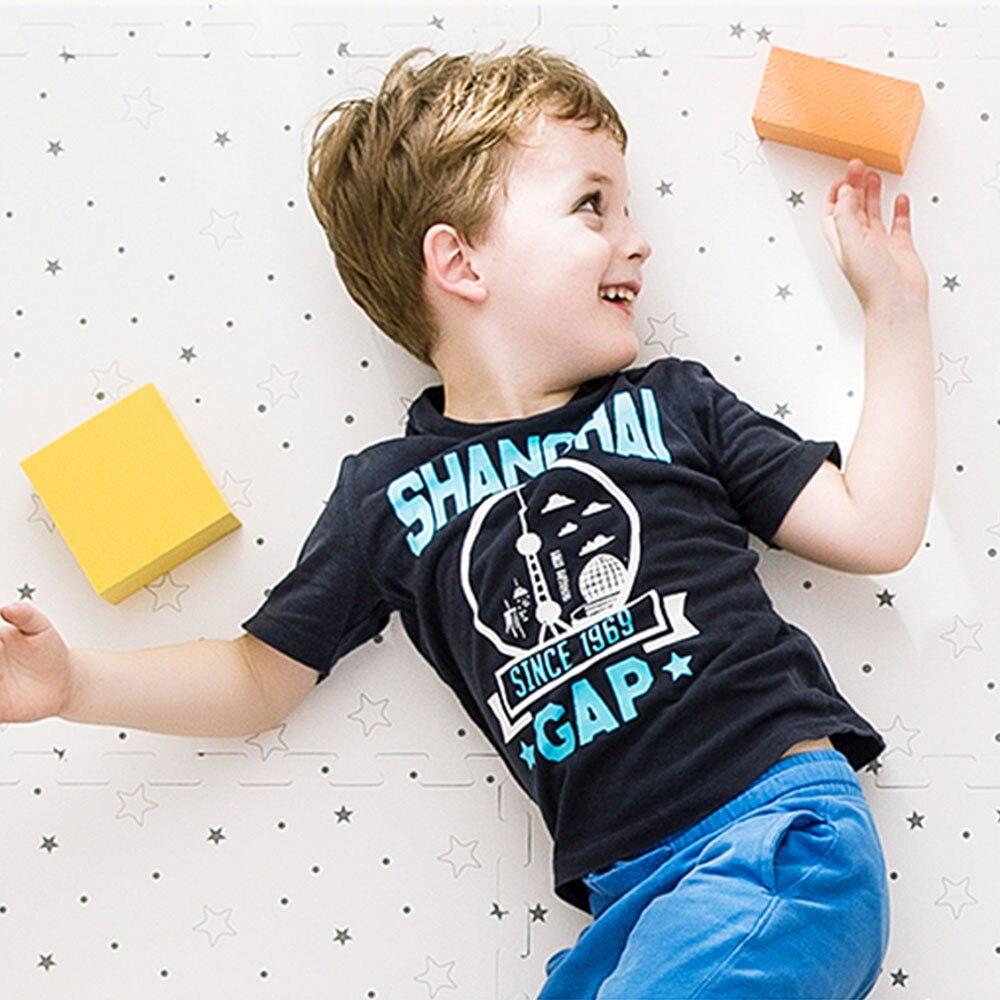 50*50 cm bébé EVA mousse jouer Puzzle tapis entrelacé exercice étage enfants tapis tapis pour enfant jouets tapis - 5