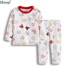 2-Years T-Shirt Sleepwear Top-Quality Clothes-Sets Pajamas Baby-Girl Cartoon 0-1 Suit