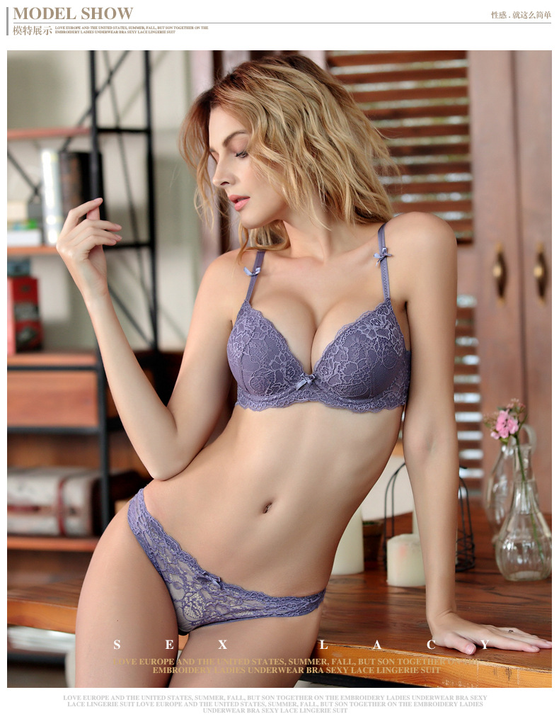 aeProduct.getSubject() HOT 2017 Sexy Underwear Women Bra Set Lingerie ... cfe999ac9