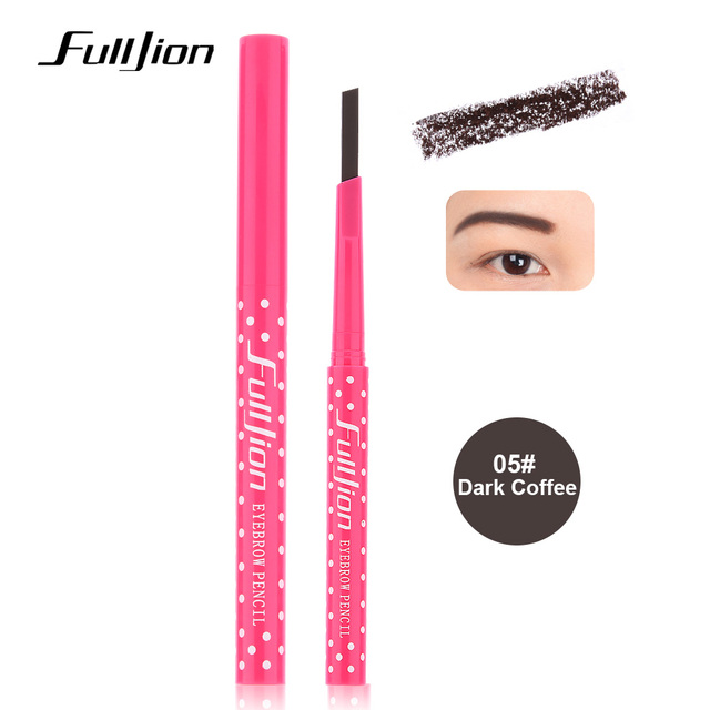 Eyebrow Pencil Longlasting Waterproof Eyebrow Liner and Eye brow Shaping Stencils  5