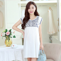 Korean Maternity Clothes Gown Wear Summer Dress For Pregnant Clothing Maternity Summer Short Dress Cotton Skirt 502043