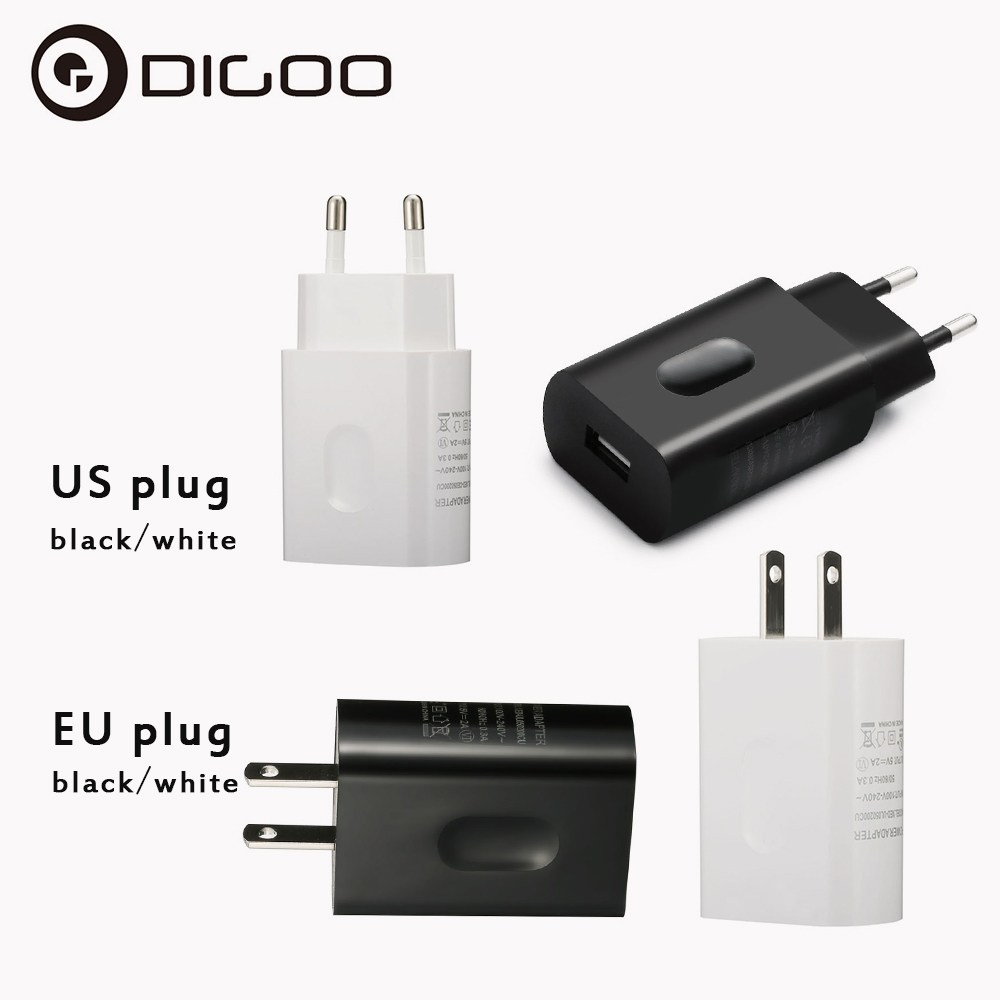 Dg Home Us 3 99 50 Off Digoo Dg Xed 5v 2a Real Powerful Universal Usb Charger Eu Us Plug Home Wall Travel Charger Power Supply Adapter In Transmission