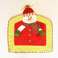 3Pcs Doll Christmas Chair Cover 42*47cm (16.54*18.50) Xmas Decoration High Grade Covers Home Supplies CRS005