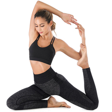 Abdominal control high waist tights womens sports seamless tight yoga pants female fitness sportswear leggings