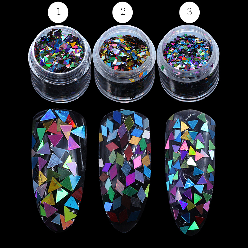 1 Box 2mm Rhombus Paillette Dazzling Mixed Diamond Sticker Tips Nail Sequins Sparkling Colorful Glitter Nail Art Decoration river treasure water sport toys inflatable water seesaw