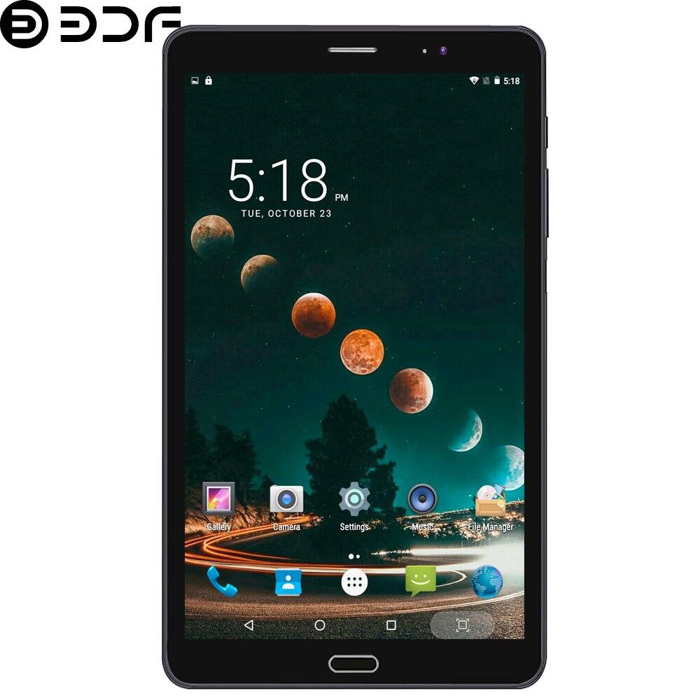 8 pouces Android 6.0 tablette Pc 3G/4G LTE carte SIM appel téléphonique IPS 2.5D écran tablettes 4 GB/32 GB Ultra HD caméra - 3