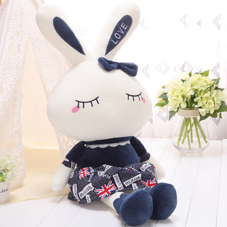 Cute Animal Soft Stuffed Plush Toys Bunny Rabbit Plush Toys Dolls Kawaii Gift Bunnies Peluches De Animales For Girls 70C0036