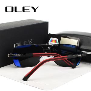 Image 4 - OLEY 브랜드 남자 편광 선글라스 여자 태양 안경 운전 고글 Oculos 지원 로고 사용자 정의 Y8724