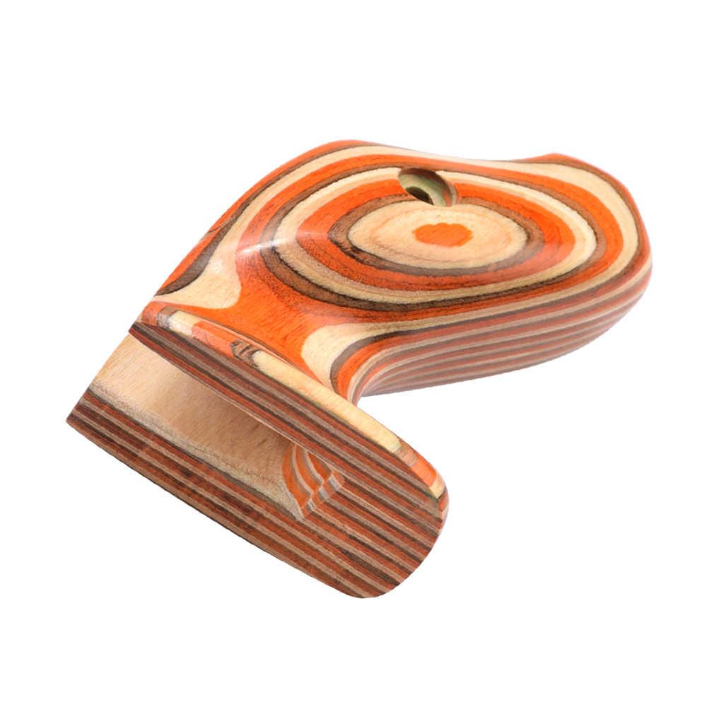 """Empuñaduras de arco vertical, agarre tradicional recurvedor, arquería, madera, empuñaduras de mano derecha para arco de arquería 17 """"ILF"""