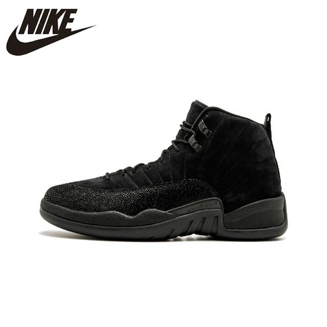 big sale 57ade 5d7a7 Original New Arrival Authentic Nike Air Jordan 12 Retro OVO Men s  Comfortable Basketball Shoes Sneakers Good Quality 873864 032-in Basketball  Shoes from ...