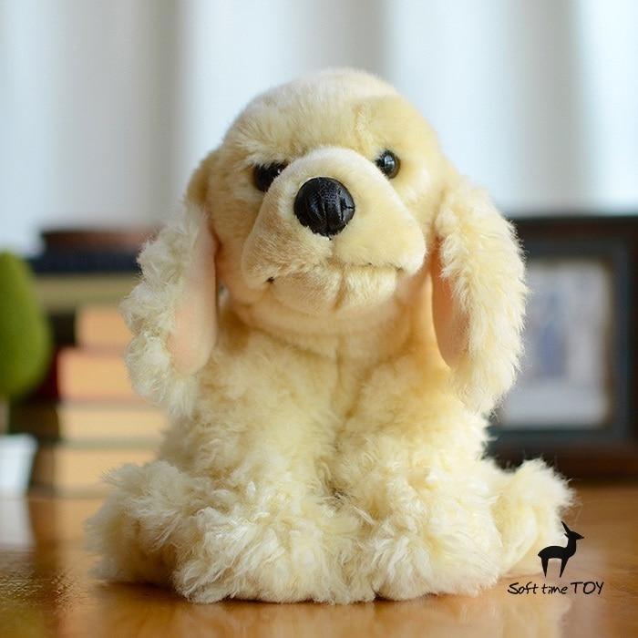 Toys Plush Cocker Spaniel Doll Simulation Animals Toy Spaniel Dog Children Dolls Birthday Gift