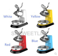 New Arrival Summer Ice Crushers Smoothie Cocktail Maker Shavers Machine For Tea Coffee Shop