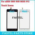 Nueva original para huawei u8950 g600 9508 b0385 p12 pantalla táctil de cristal digitalizador reemplazo negro blanco