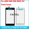 Original New For Huawei u8950 G600 9508 B0385 P12 Black White Touch Screen Glass Digitizer Replacement