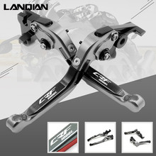 For Honda Africa Twin CRF 1000L CNC Motorcycle Adjustable Folding Brake Clutch Lever 2015 2016 2017 2018