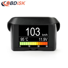 "2.4"" Car OBD Smart Digital meter& Alarm Fault Code Water Temperature Gauge Digital Voltage Speed Meter Multi-Function Display"