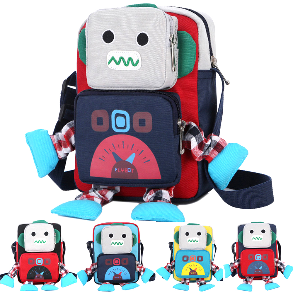 ab5d8c734fdc Panegy Cute Cartoon Robot Kindergarten Backpack For Boys And Girls 1 ...