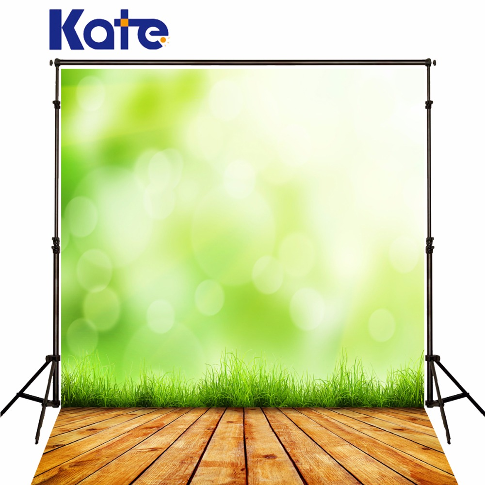 KATE Spring Photography Backdrops Wood Floor Background Green Forest Backdrop Sunshine Photo Backdrop Naturism Children Photos spring background photography for kids photos green screen photography backdrops children photo props custom made backgrounds