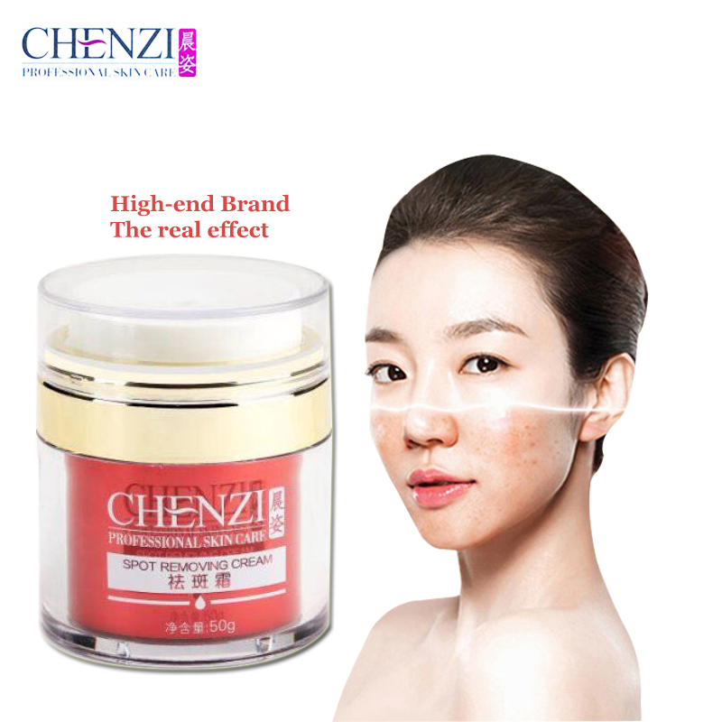 CHENZI Chinese Whitening dark spot removing cream Face Care Freckle Removing Melanin Removal Pigment LighteningFacial Cream 50g