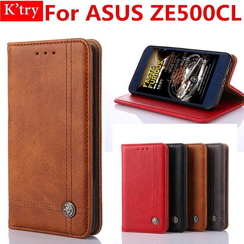 Hot Selling Book Style withCard Holder Wallet Case For ASUS Zenfone 2 (5.0) ZE500CL Flip Bag Fundas