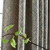 Tende su misura di alta qualità Nordic Semplice E moderno ciniglia Jacquard a righe di spessore grigio panno blackout cortina di tulle tende N410