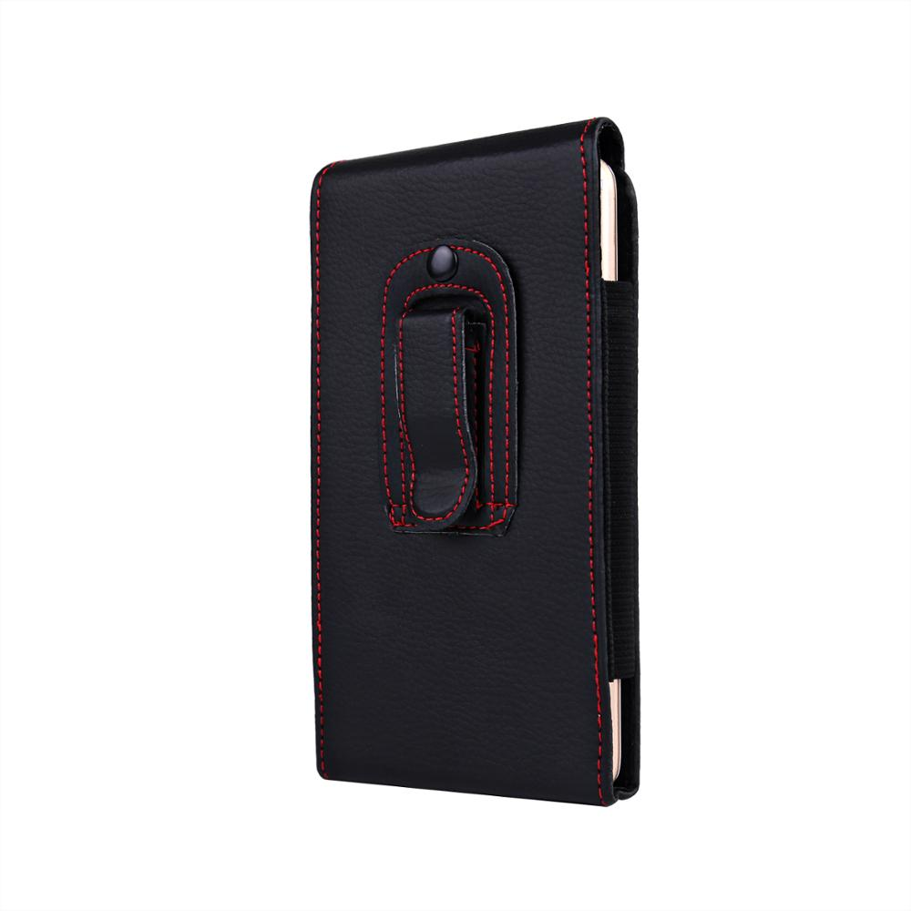 Casual Leather Phone Case With Holster Bag Belt For All Mobile Phones 2