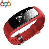 696 id107 plus hr Bluetooth Smart Band Heart Rate Fitness Track Veryfit 2.0 app sport Wristband pk xiao mi band cicret Bracelet