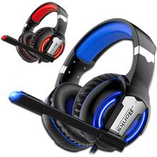 Gaming Headphones PS4 Headset Wired Game Bass Stereo Casque with Microphone For PC New Xbox One Laptop Tablet computer Gamer PS4 недорого