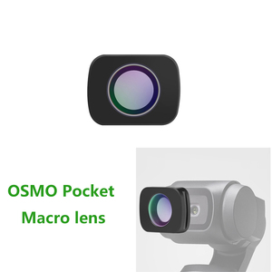 Image 2 - OSMO Pocket Mini Draagbare groothoek Camera Lens/Macro Lens Voor DJI OSMO Pocket Magnetische Camera Lens Accessoires