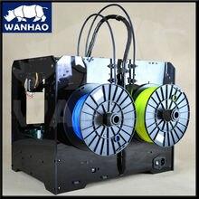 2 экструдеры дубликаторы 4 3d wanhao принтер новая версия